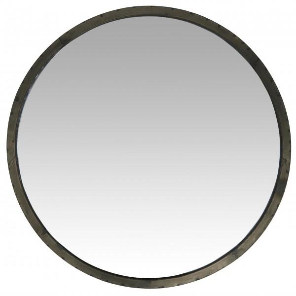 Hochwertiger Wandspiegel aus Metall von Ib Laursen