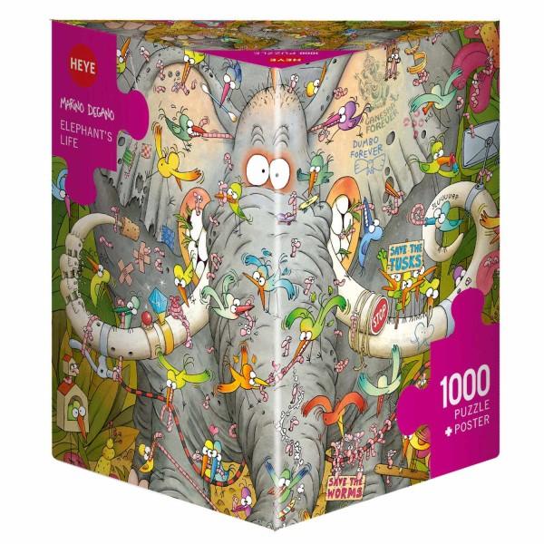 """Puzzle """"Elephant's Life"""" von HEYE"""