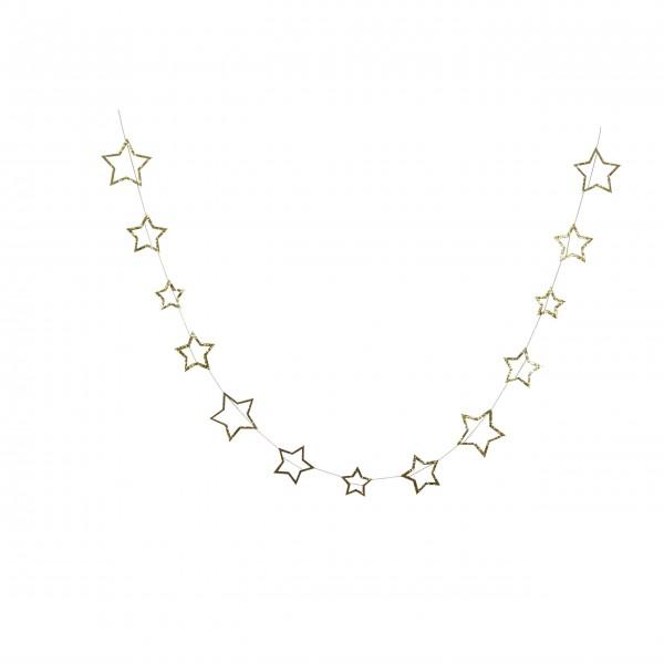 "Mini-Girlande ""Goldene Sterne"" von Meri Meri"