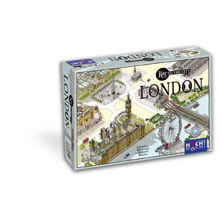 Gesellschaftsspiel Key to the City von HUCH!