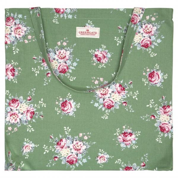"""GreenGate Shopper """"Aurelia"""" (Green)"""