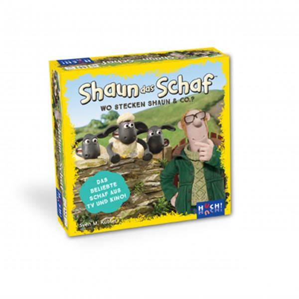 """Kartenspiel """"Shaun das Schaf"""" von HUCH!"""