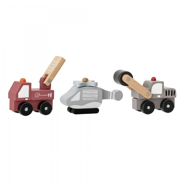 Bloomingville Spielzeugautos im 3er-Set (Bunt)