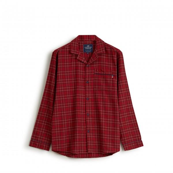 "Lexington Unisex Pyjama ""Checked Flannel"" - M (Rot)"