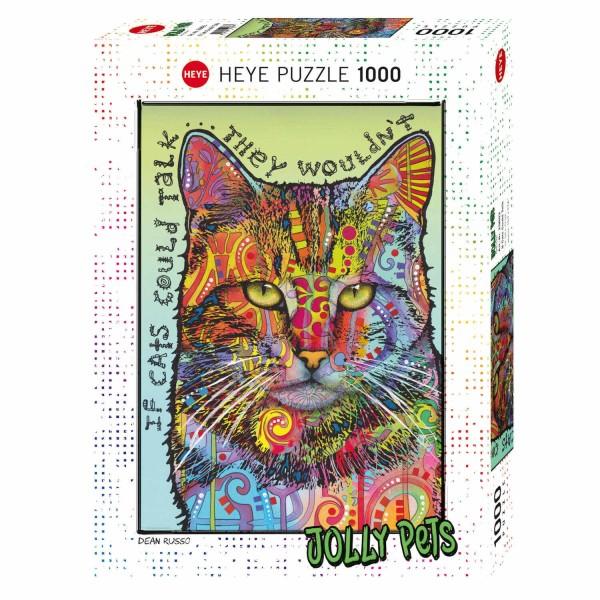 """Puzzle """"If Cats Could Talk"""" von HEYE"""