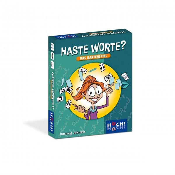 """HUCH! Familienspiel """"Haste Worte - Das Kartenspiel"""""""