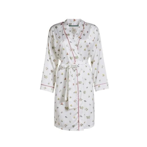 """Pip Studio Kimono """"Niny Moss"""" (Weiß) - L"""