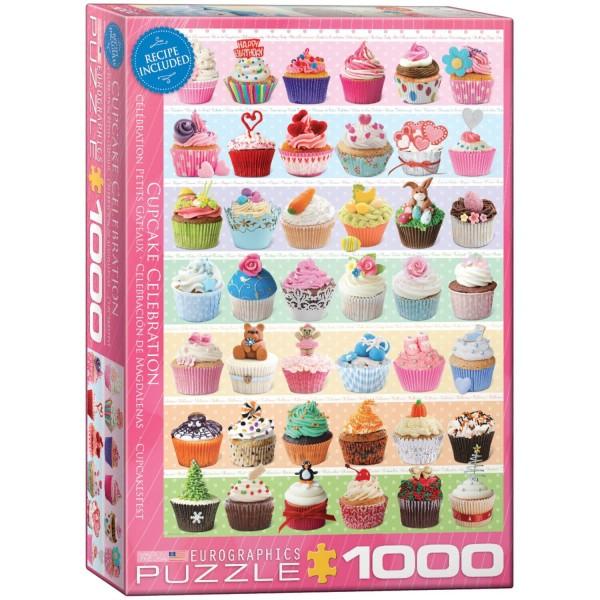 Puzzles Cupcake Celebration von Eurographics