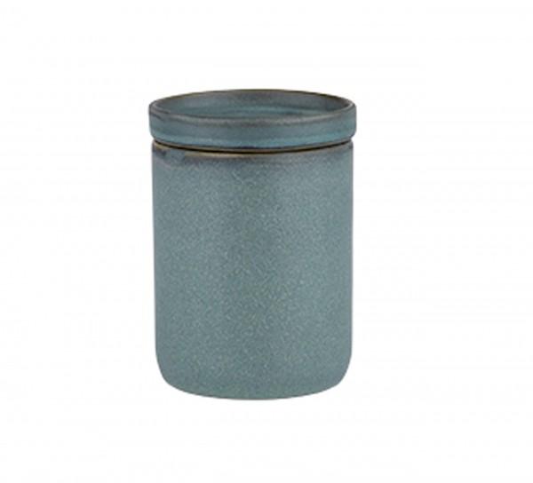 Wie von Hand gemacht: Keramikdose von Bahne