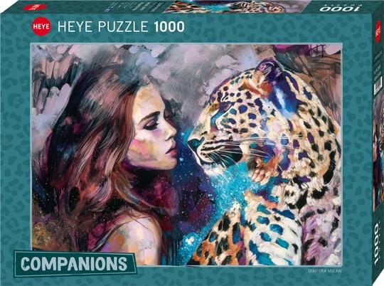 Puzzle Aligned Destiny COMPANIONS, MILAN Standard 1000 Pieces