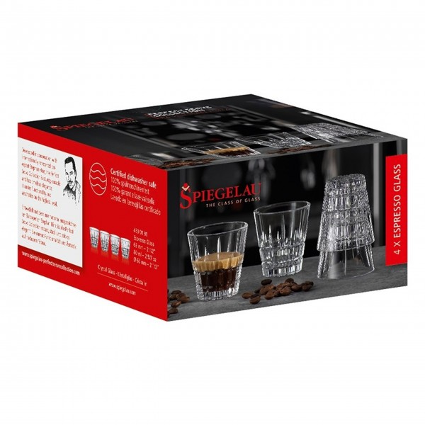 """Spiegelau Espresso-Shot Glas """"Perfect Serve"""", 4er-Set"""