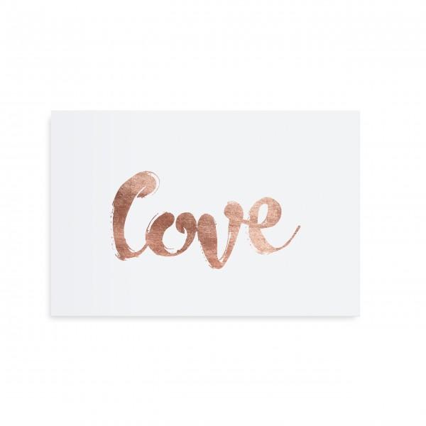 Liebevolle Postkarte von TAFELGUT