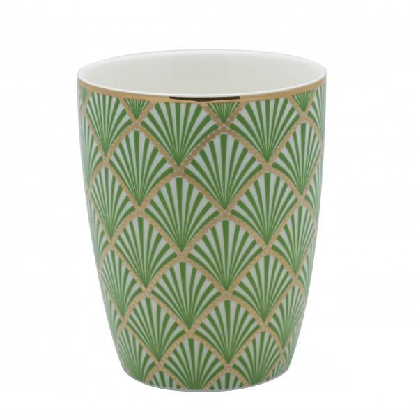 """GreenGate Latte Cup """"Fan"""" (Grün)"""