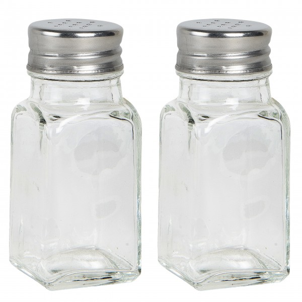 Ib Laursen Salz-/Pfefferstreuer, glas