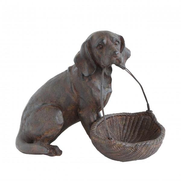 """Dekofigur Hund """"Chateau"""" (Braun) von Creative Collection by Bloomingville"""