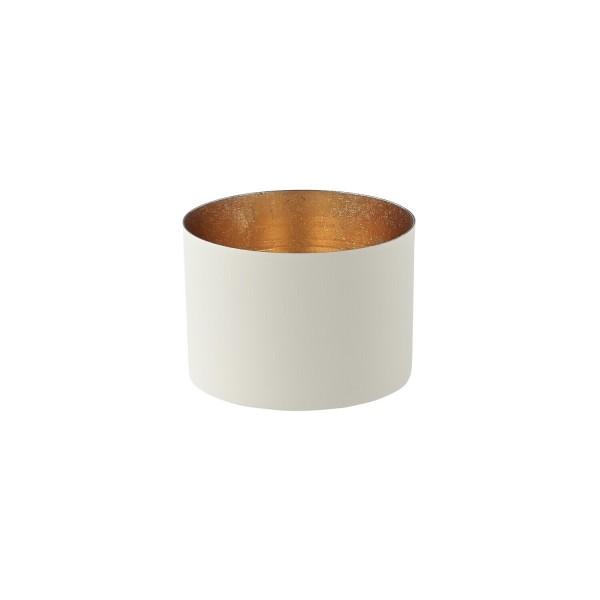 """Windlicht """"Chennai"""" - M (Weiß/Gold) von Gift Company"""