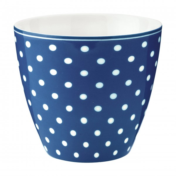 "GreenGate Latte Cup ""Spot"" (Blue)"