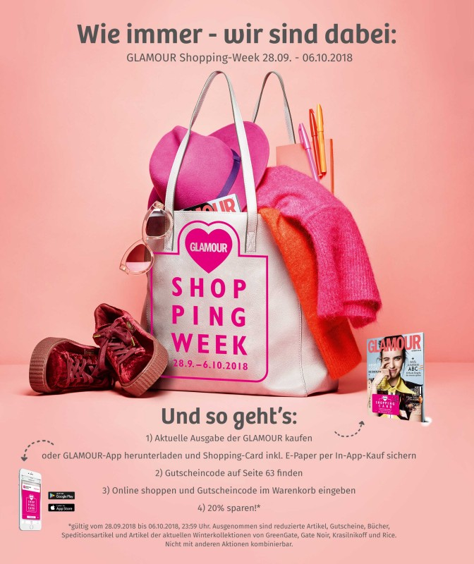 GLAMOUR Shopping Week 2018