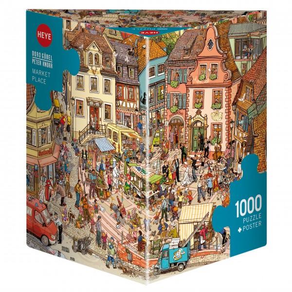 """Puzzle """"Market Place"""" von HEYE"""