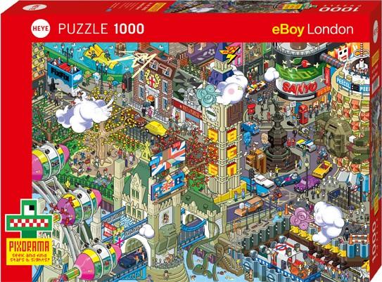 Puzzle London Quest PIXORAMA Standard 1000 Pieces