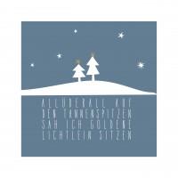 Papierservietten von räder Design - Weihnachtsstimmung pur!
