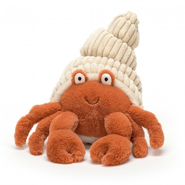 "Jellycat Krabbe ""Herman Hermit"" (Medium)"