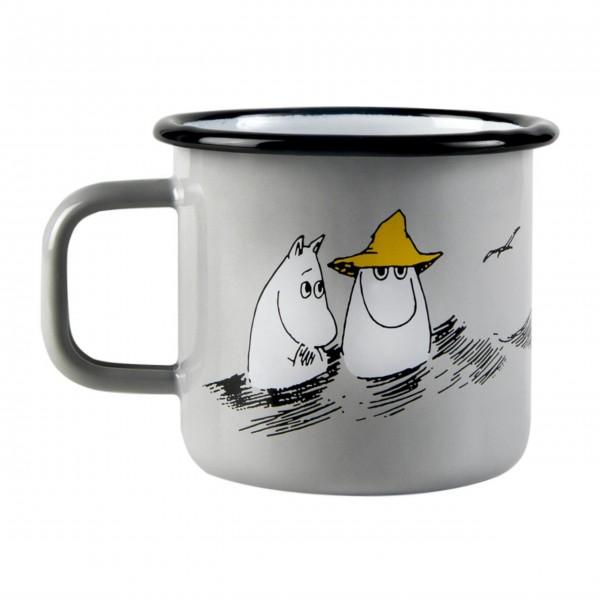 """Muurla Emaille Becher """"Moomin-Friends"""""""