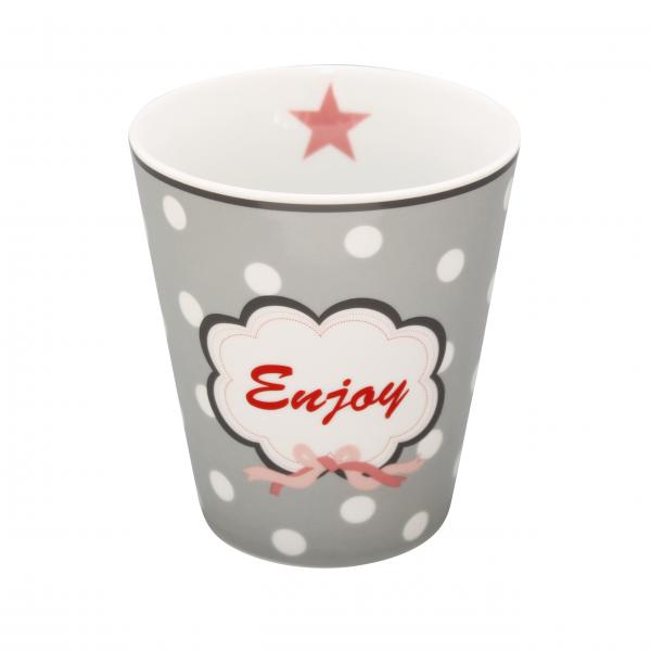 """Krasilnikoff - Happy Mug """"Enjoy"""""""