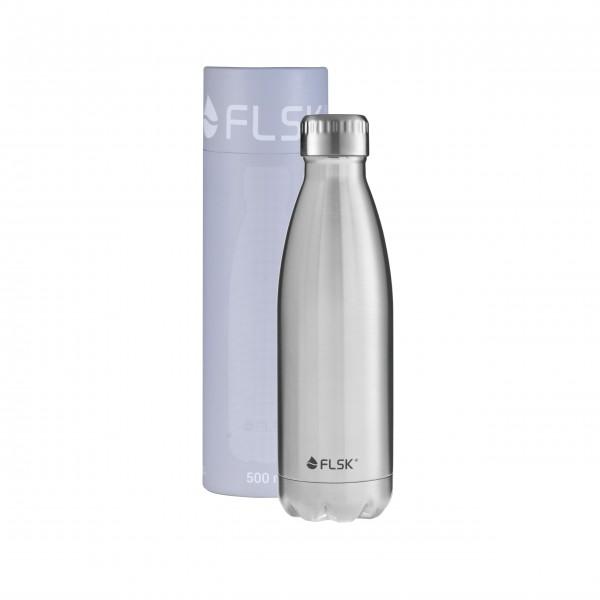 """Isolierflasche """"STNLS"""" 500 ml von FLSK"""