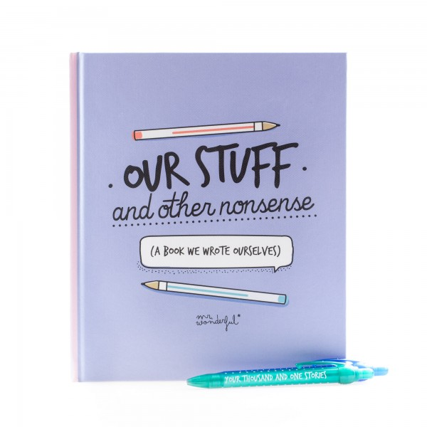 """mr. wonderful* Buch """"Our stuff and other nonsense"""""""