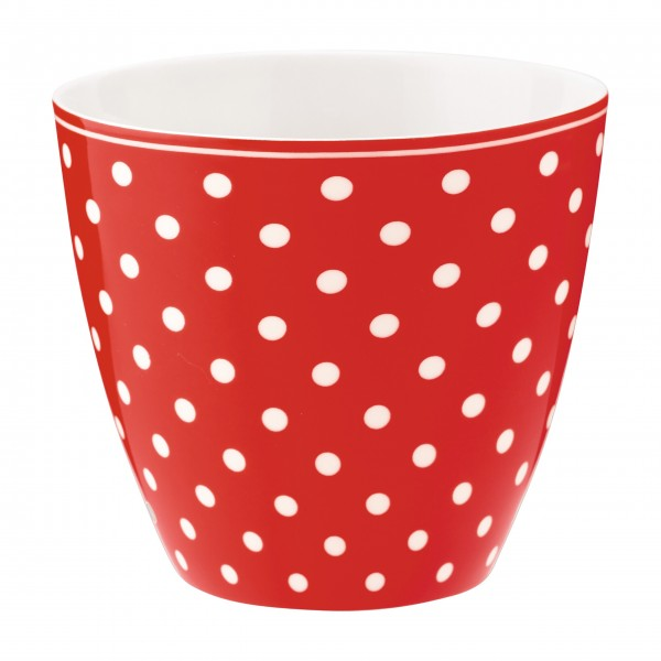"""GreenGate Latte Cup """"Spot"""" (Red)"""