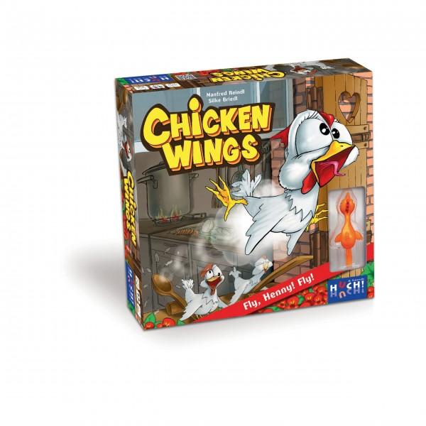 HUCH! Chicken Wings Gesellschaftsspiel, ab 6 Jahren