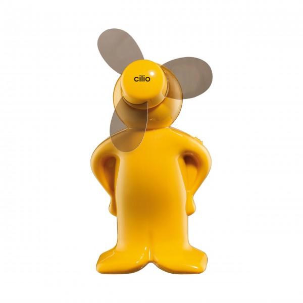 Gelber MIni-Ventilator von cilio