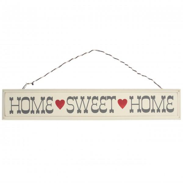 """Dekoschild """"Home Sweet Home"""" von Rex LONDON"""