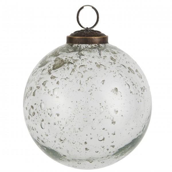 """Ib Laursen Weihnachtskugel """"Stilenat®"""" - Ø: 9,5 cm (Klar)"""