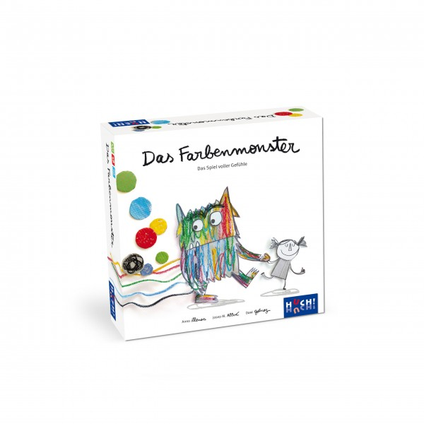 """Kinderspiel """"Farbenmonster"""" von HUCH!"""