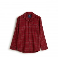 "Lexington Unisex Pyjama ""Checked Flannel"" - L (Rot)"