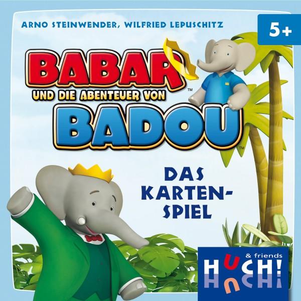 Babar und die Abenteuer von Badou - Das Kartenspiel von HUCH!