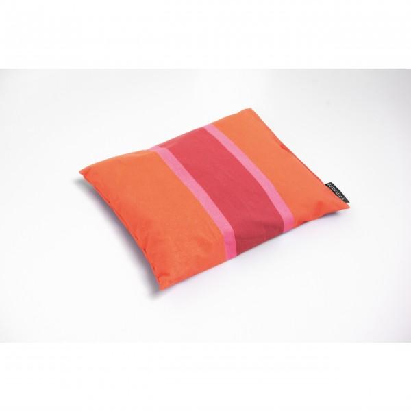 """Kräuterkissen """"Zirbenholz"""" 25x19cm (Orange/Rosa/Rot) von Remember"""