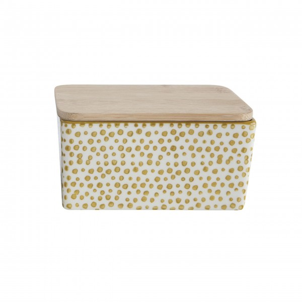 """Butterdose """"Gatherings"""" (Gold) von Creative Collection by Bloomingville"""