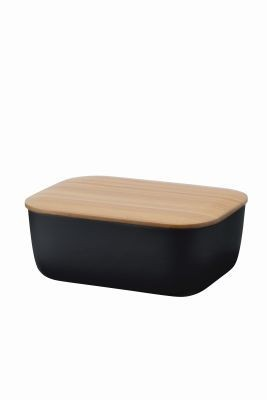 "Stelton Rig-Tig Butterdose ""Box it"" (Schwarz)"