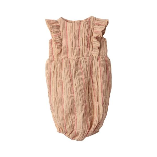 """Maileg Jumpsuit """"Streifen"""" (Rosa) - Hasen-Größe 5"""