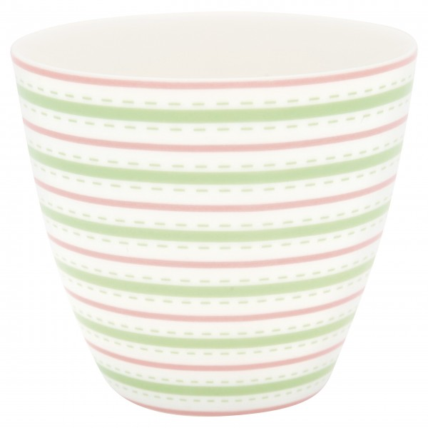 "GreenGate Latte Cup ""Sari"" (White)"
