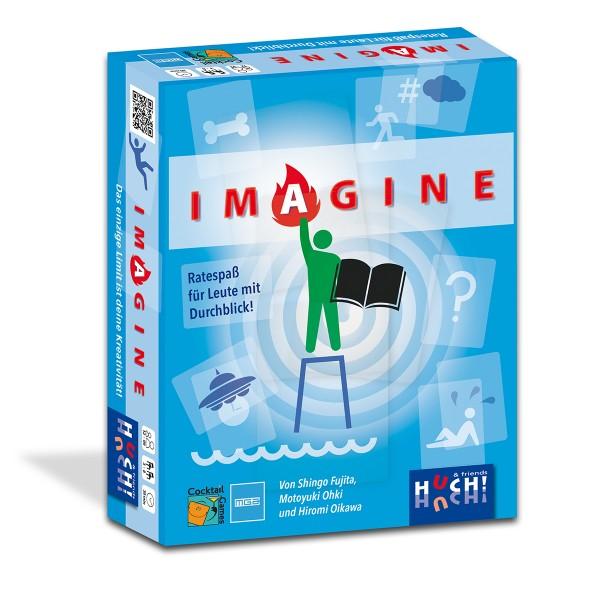 """Das Spiel mit Durchblick - Ratespiel """"Imagine"""""""
