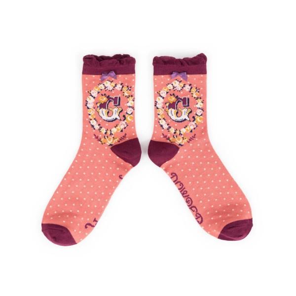 "Powder Damen Socken ""A-Z"" - Buchstabe G"