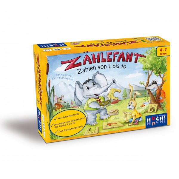 Kinderspiel Zählefant - Zahlen 1-10 von HUCH!