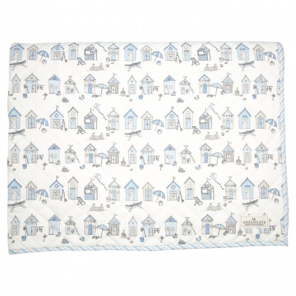 "GreenGate Kinder-Bettbezug ""Ellison"" (Pale blue) - 120x120cm"