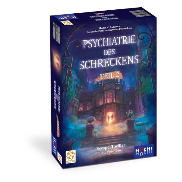 Gesellschaftsspiel Psychiatrie des Schreckens - Teil 2 von HUCH!