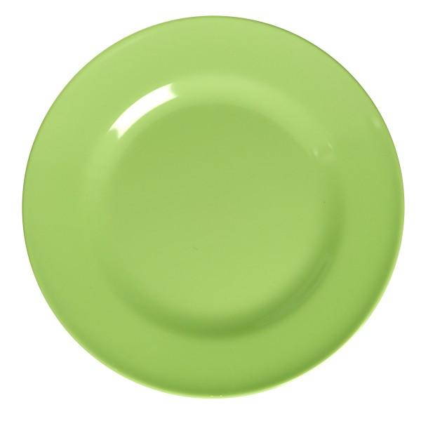 Schöner Speiseteller von Rice, in knalligem Grün.