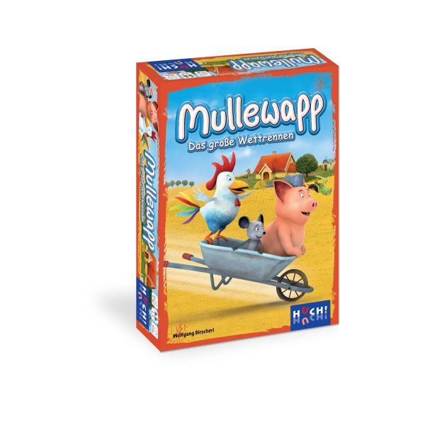 """Kinderspiel """"Mullewapp - das große Wettrennen"""" von HUCH!"""